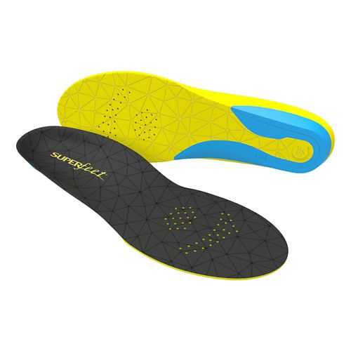 Superfeet FLEXthin Insoles - Black/Yellow F