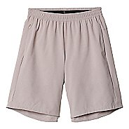 "Mens adidas AKTIV 9"" Dual Heathered 2-in-1 Shorts"