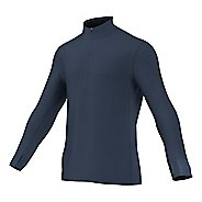 Mens adidas Climaheat Half-Zip Long Sleeve Technical Tops