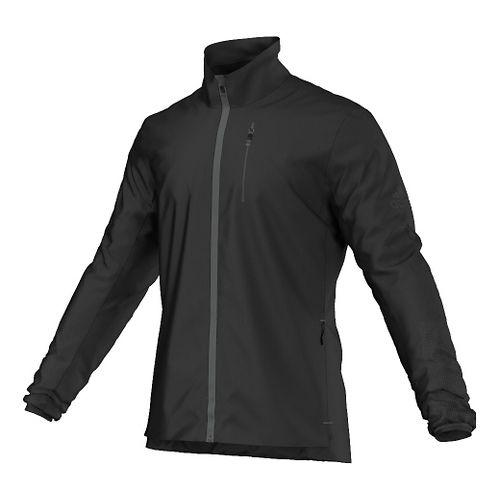 Mens adidas Climaheat Running Jackets - Black L