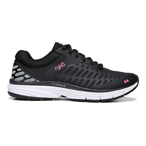 Womens Ryka Indigo Running Shoe - Black/Pink 6.5