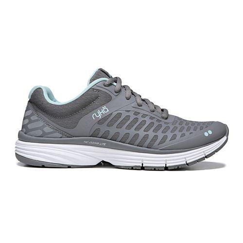 Womens Ryka Indigo Running Shoe - Grey/Mint 6.5