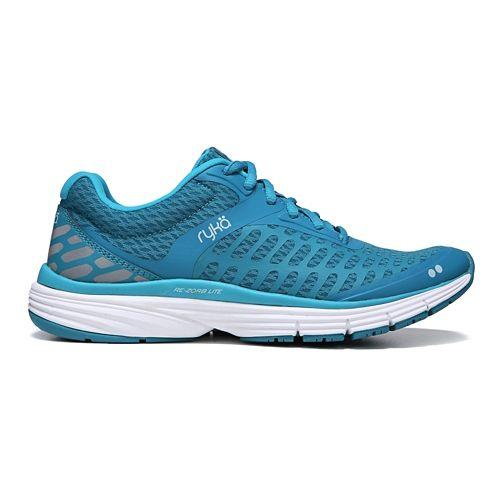 Womens Ryka Indigo Running Shoe - Blue/Silver 6.5