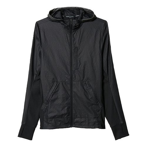 Mens adidas Pure Amplify Running Jackets - Black M