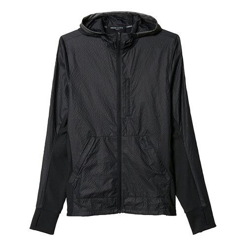 Mens adidas Pure Amplify Running Jackets - Black S