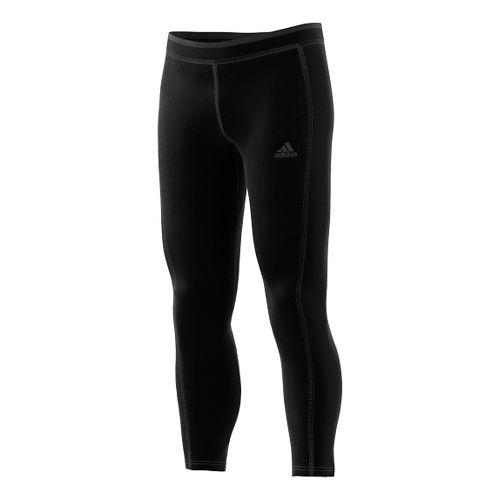 Mens adidas Sequencials Climaheat Long Tights & Leggings Pants - Black XL