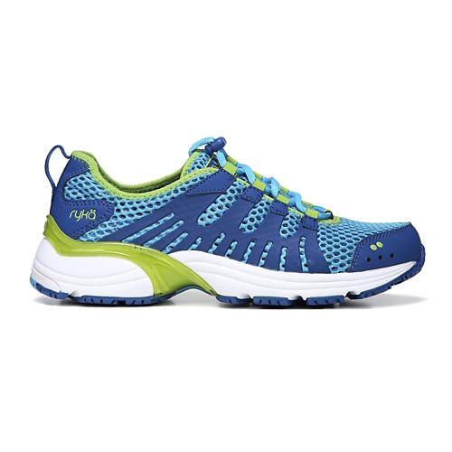 Womens Ryka Hydrosport 2 Cross Training Shoe - Blue/Lime 8