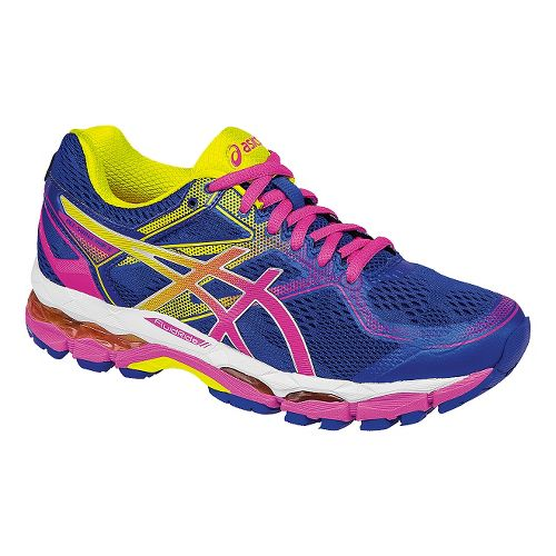 Womens ASICS GEL-Surveyor 5 Running Shoe - Blue/Pink 6.5