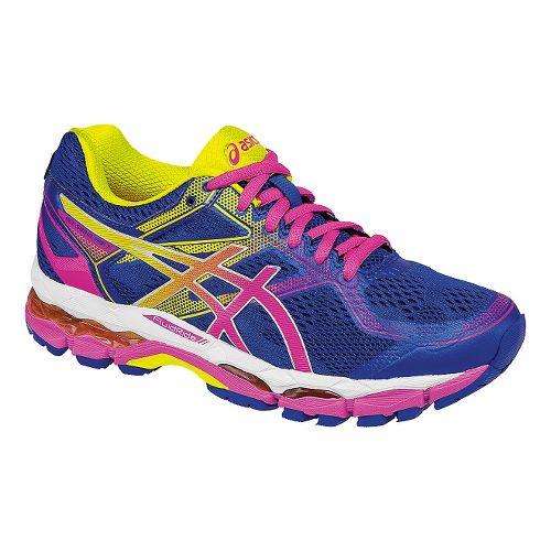Womens ASICS GEL-Surveyor 5 Running Shoe - Blue/Pink 9