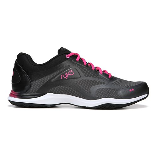 Womens Ryka Grafik 2 Cross Training Shoe - Black/Grey 6.5