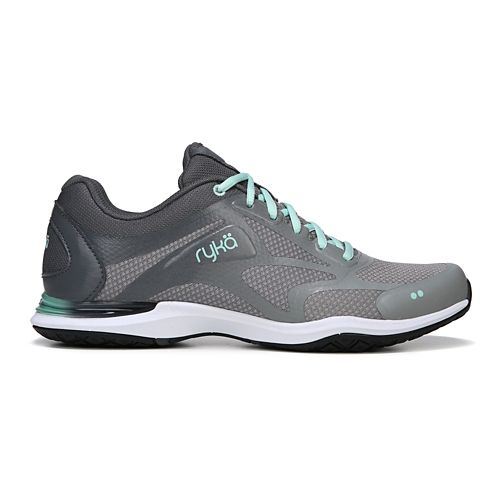 Womens Ryka Grafik 2 Cross Training Shoe - Grey/Mint 10.5