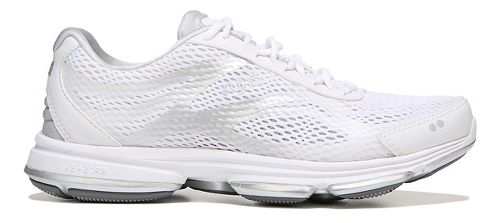 Womens Ryka Devotion Plus 2 Walking Shoe - White/Silver 10.5