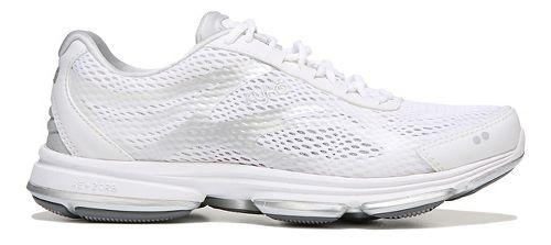 Womens Ryka Devotion Plus 2 Walking Shoe - White/Silver 5.5