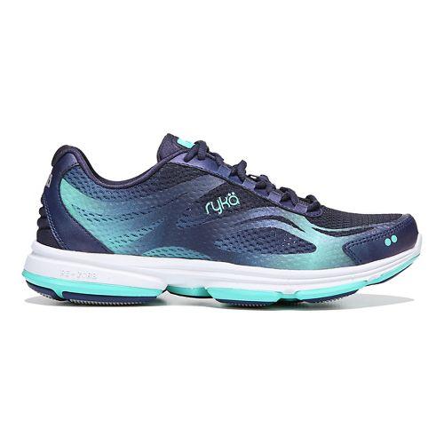 Womens Ryka Devotion Plus 2 Walking Shoe - Blue/Teal 10.5