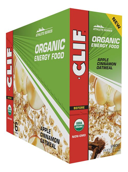 Clif Organic Oatmeal Energy Food 6 count Gels - null