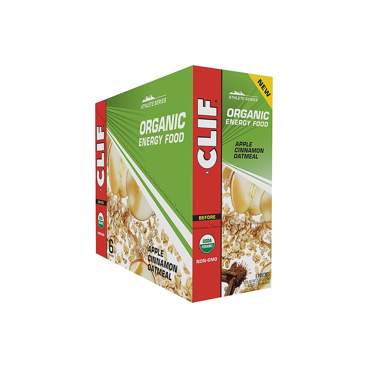 Clif�Organic Oatmeal Energy Food 6 count