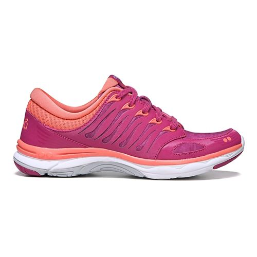 Womens Ryka Flora Walking Shoe - Pink/Coral 8