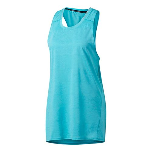 Mens Adidas Supernova Singlet Sleeveless & Tank Tops Technical Tops - Energy Blue L
