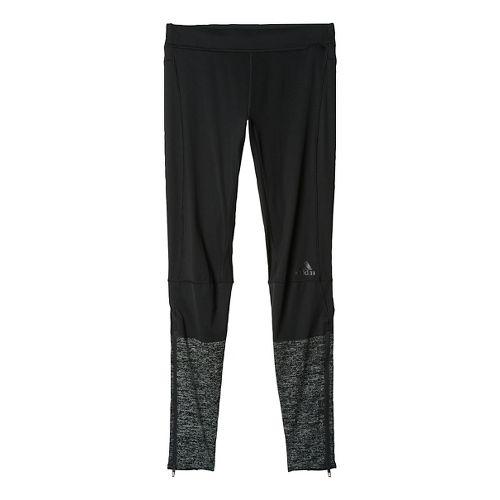 Mens adidas Supernova Long Tights & Leggings Pants - Black XL
