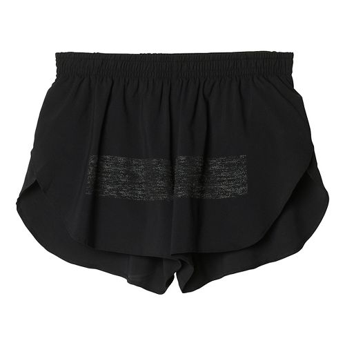 Mens adidas Supernova Splits Shorts - Black L