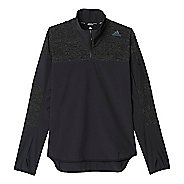 Mens Adidas Supernova Storm Half-Zips & Hoodies Technical Tops