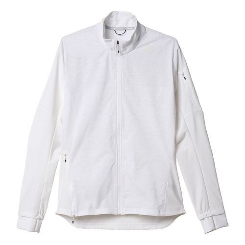 Mens adidas Supernova Storm Running Jackets - White L