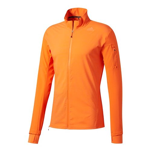 Mens Adidas Supernova Storm Running Jackets - Energy Orange XL