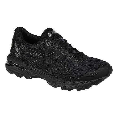 Womens ASICS GT-1000 5 Running Shoe - Black/Onyx 8