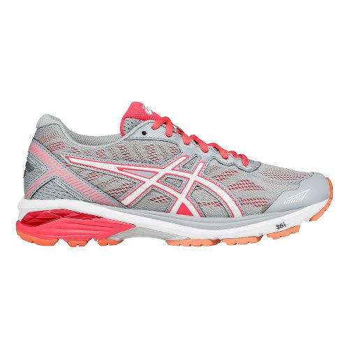 Womens ASICS GT-1000 5 Running Shoe - Grey/White 8.5