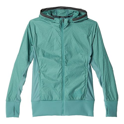 Womens adidas Pure Amplify Running Jackets - Vapour Steel XL