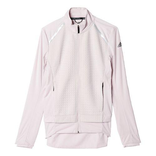 Womens adidas Ultra Energy Running Jackets - Ice Purple M
