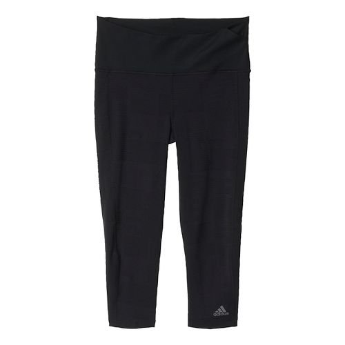 Womens adidas Ultra Energy Three-Quarter Tights & Leggings Pants - Black XL