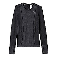 Womens adidas Ultra Wool Primeknit Long Sleeve Technical Tops