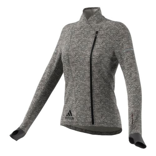 Womens adidas Sequencials Climaheat Wrap Hoodie & Sweatshirts Technical Tops - Black L