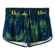 Womens adidas M10 Knitted Short - Northern Lights Print Unlined Shorts