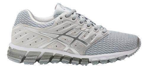 Womens ASICS GEL-Quantum 180 2 Running Shoe - Grey/White 10.5