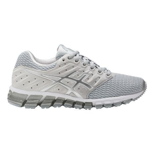 Womens ASICS GEL-Quantum 180 2 Running Shoe - Grey/White 7.5