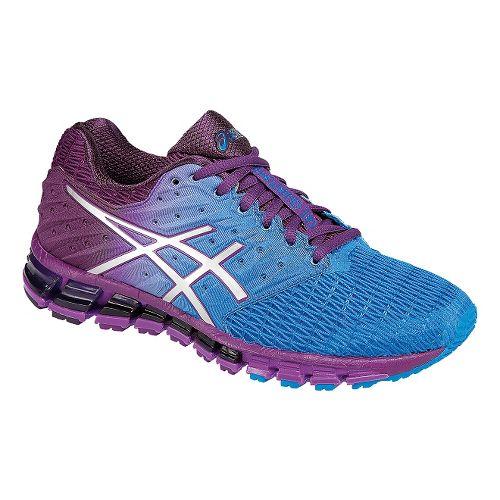 Womens ASICS GEL-Quantum 180 2 Running Shoe - Blue/Purple 6.5