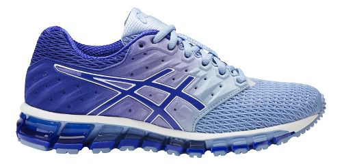 Womens ASICS GEL-Quantum 180 2 Running Shoe - Airy Blue/Purple 6.5