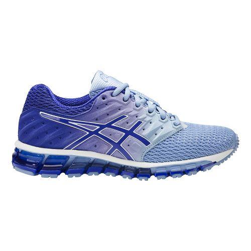 Womens ASICS GEL-Quantum 180 2 Running Shoe - Airy Blue/Purple 6.5