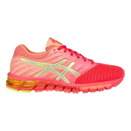 Womens ASICS GEL-Quantum 180 2 Running Shoe - Pink/Silver 10.5