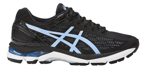 Womens ASICS GEL-Pursue 3 Running Shoe - Black/Blue 9