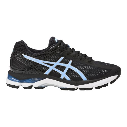 Womens ASICS GEL-Pursue 3 Running Shoe - Black/Blue 12