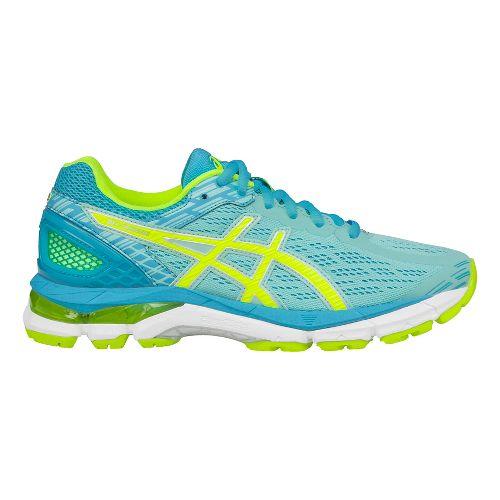 Womens ASICS GEL-Pursue 3 Running Shoe - Aqua/Yellow 10