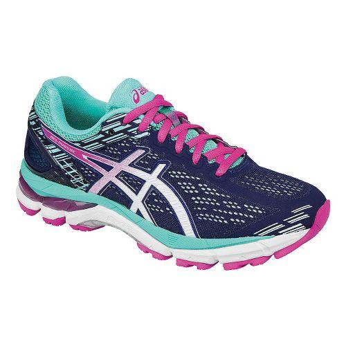 Womens ASICS GEL-Pursue 3 Running Shoe - Blue/Pink 7.5
