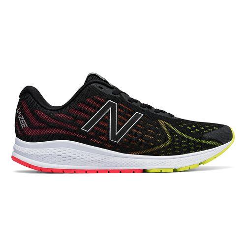 Mens New Balance Vazee Rush v2 Running Shoe - Black/Pink 8.5