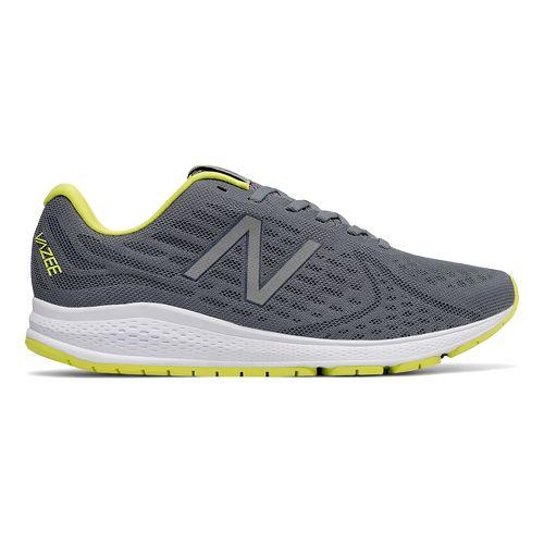 Mens New Balance Vazee Rush v2 Running Shoe - Grey/Yellow 14