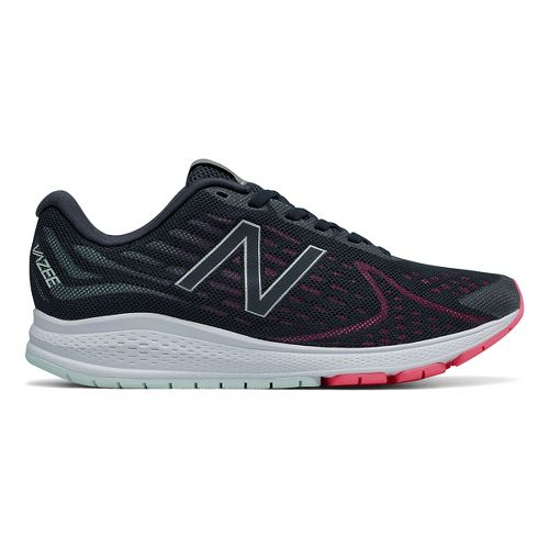 Womens New Balance Vazee Rush v2 Running Shoe - Black/Pink 8.5