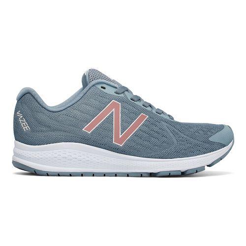 Womens New Balance Vazee Rush v2 Running Shoe - Grey/Pink 7.5