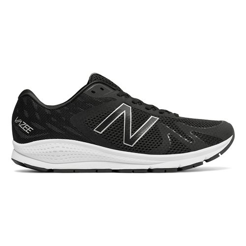 Mens New Balance Vazee Urge Running Shoe - Black/White 8.5